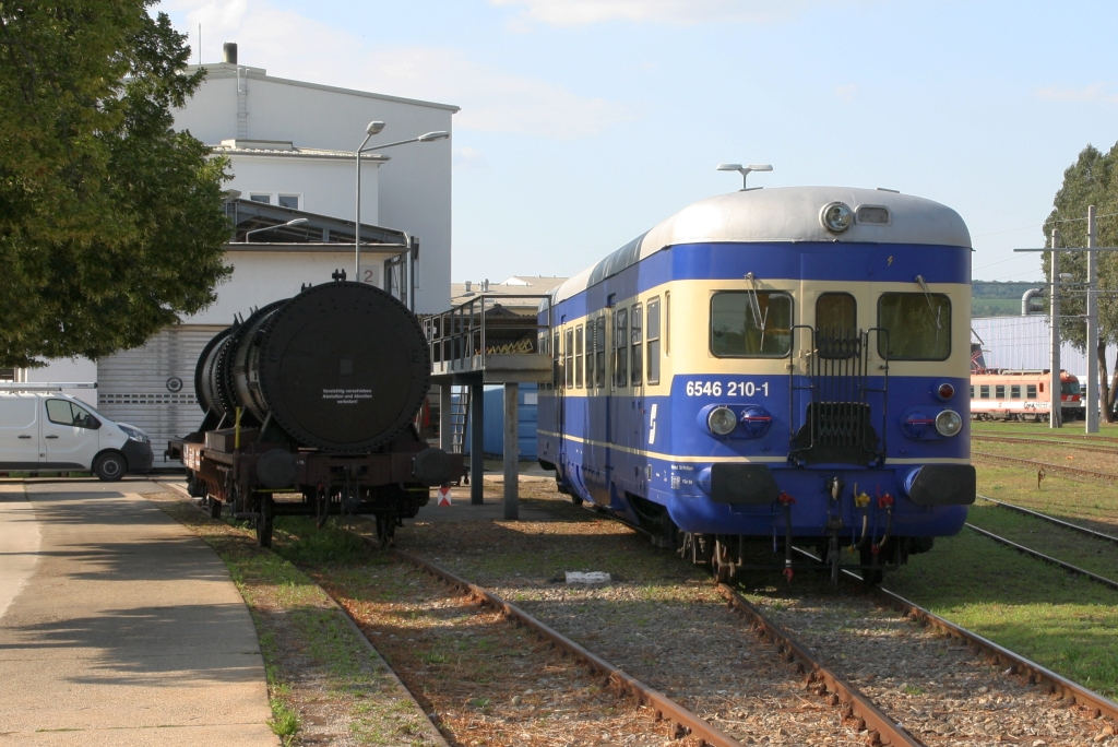 BIF 6546 210-1 B4VS am 14.August 2019 in Jedlersdorf.