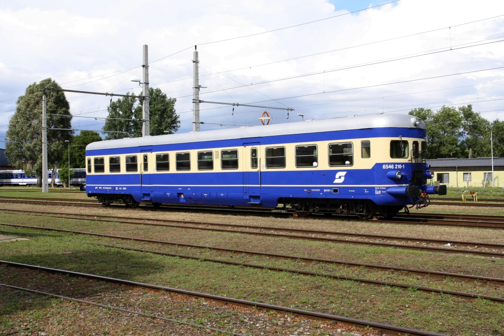 BIF 6546 210-1 B4VS am 16.August 2019 in Jedlersdorf.