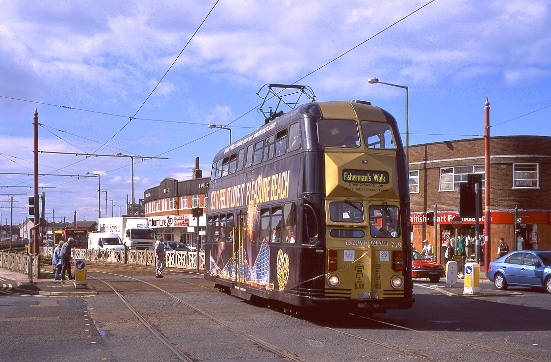 Blackpool 719, Cleveleys, 07.09.2010.