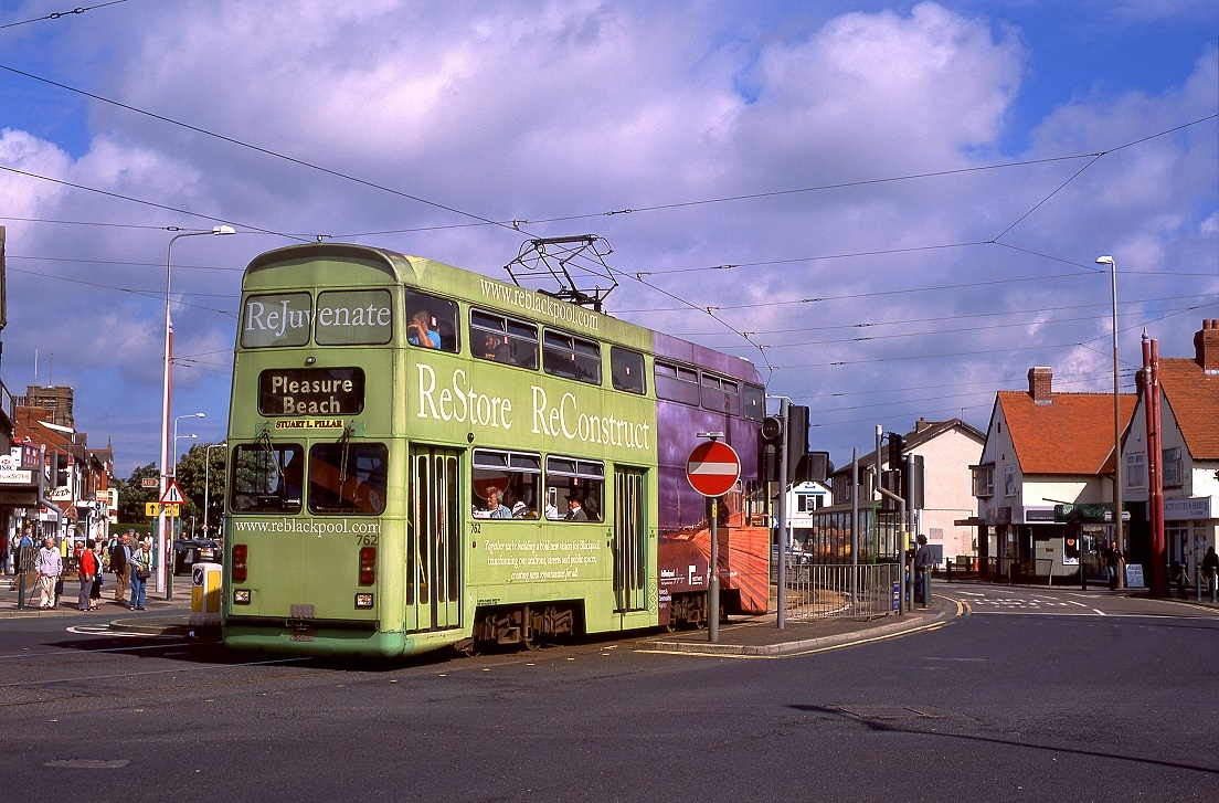 Blackpool 762, Cleveleys, 07.09.2010.