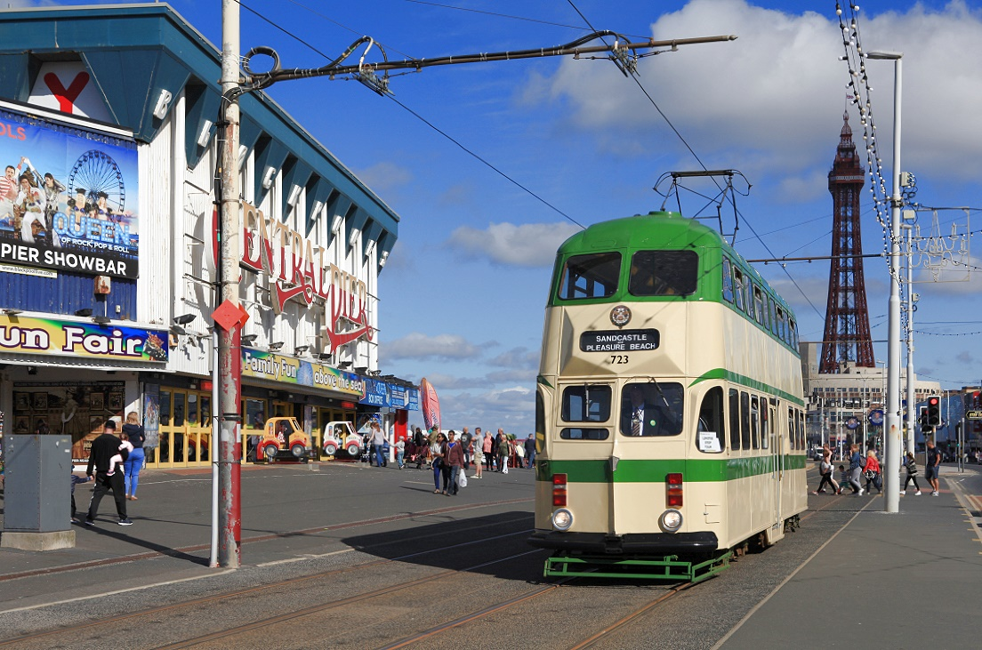 Blackpool Tw 723, Central Pier, 29.08.2016.
