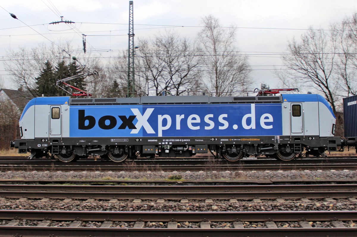 boxXpress - 193 840-6 am 18.12.2013 in Tostedt.
