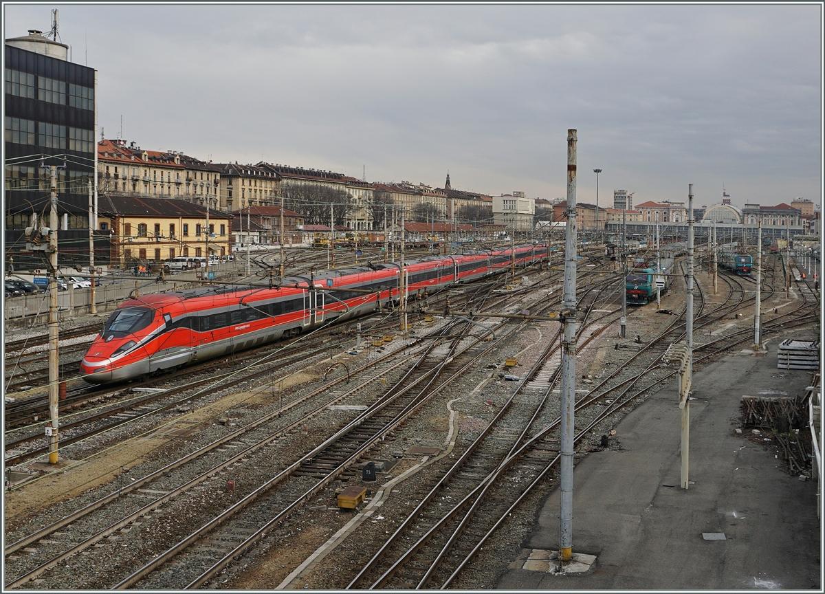 Der fs trenitalia etr 400 n 11 frecciarossa 1000 - Orari treni milano torino porta nuova ...