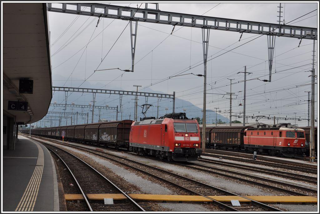 Der Schweizer Grenzbahnhof Buchs Sg Wird Vermehrt Zur