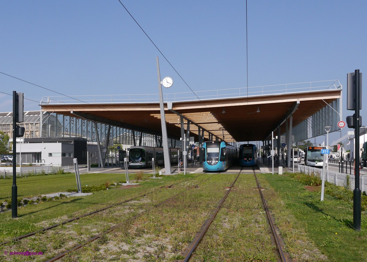 Nantes berlin train