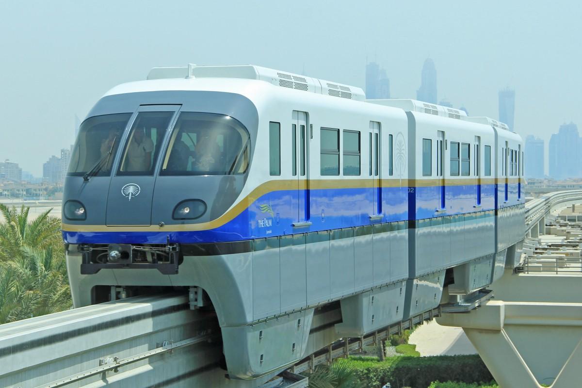 how to get to atlantis dubai by monorail