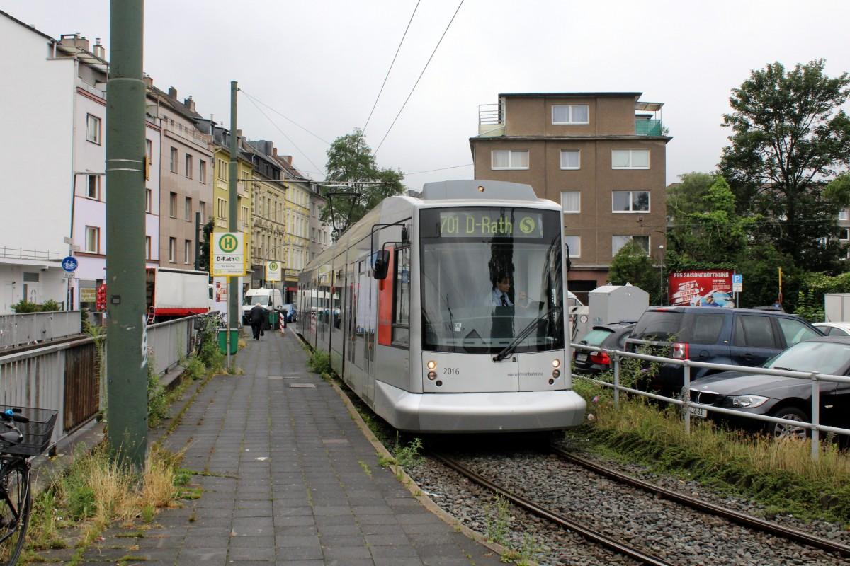 D Sseldorf Rheinbahn Sl 701 Siemens Nf10 2016 Rath