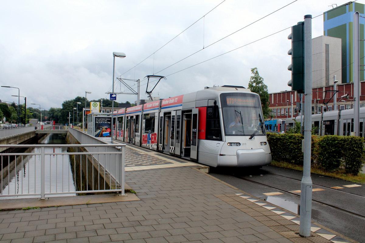 D Sseldorf Stra Enbahnlinie 709 Nach D Sseldorf