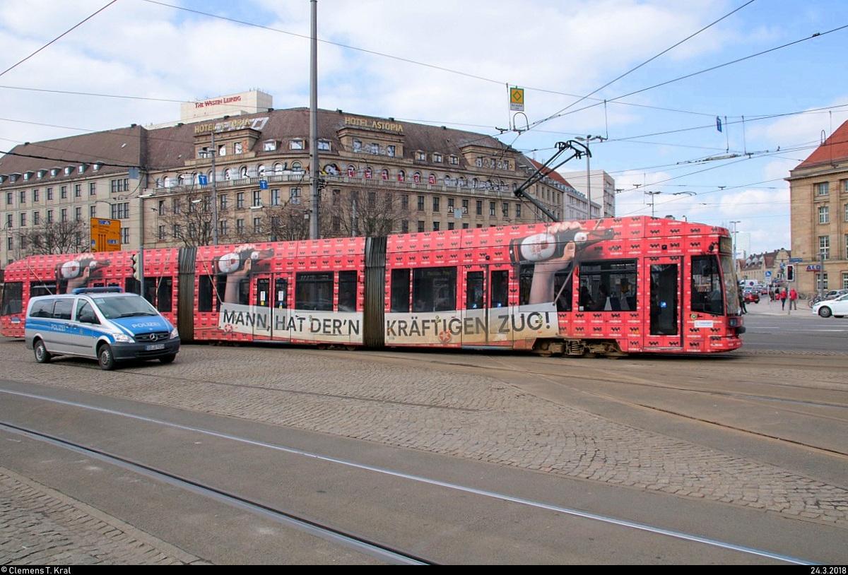 Duewagsiemens Ngt8 Wagen 1119 Mit Sternburg Werbung Der Leipziger