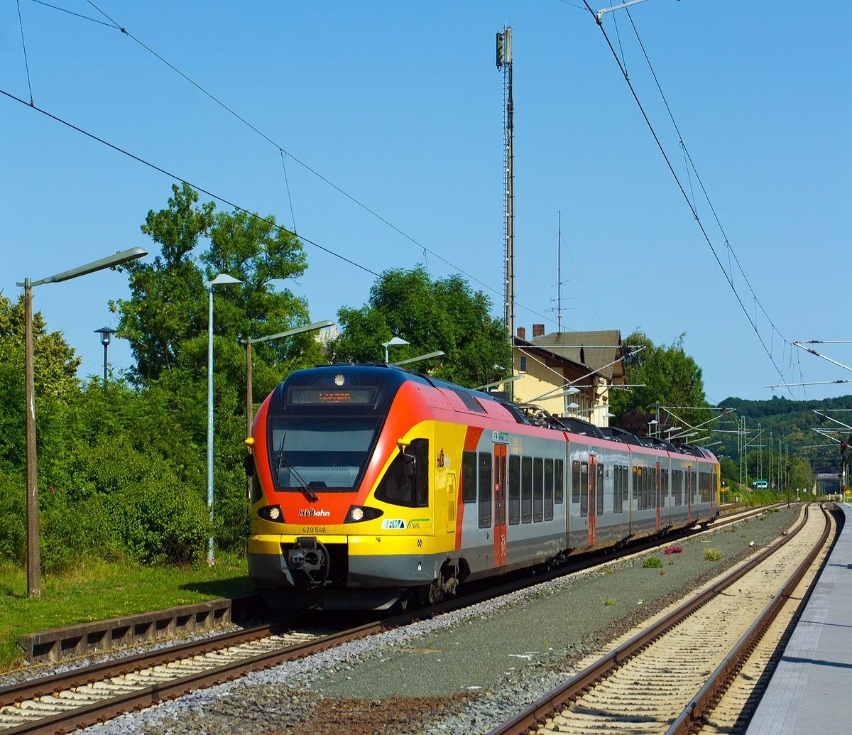Doppeltraktion Lint41 der Hessischen Landesbahn (HLB) als HLB 84250 ...