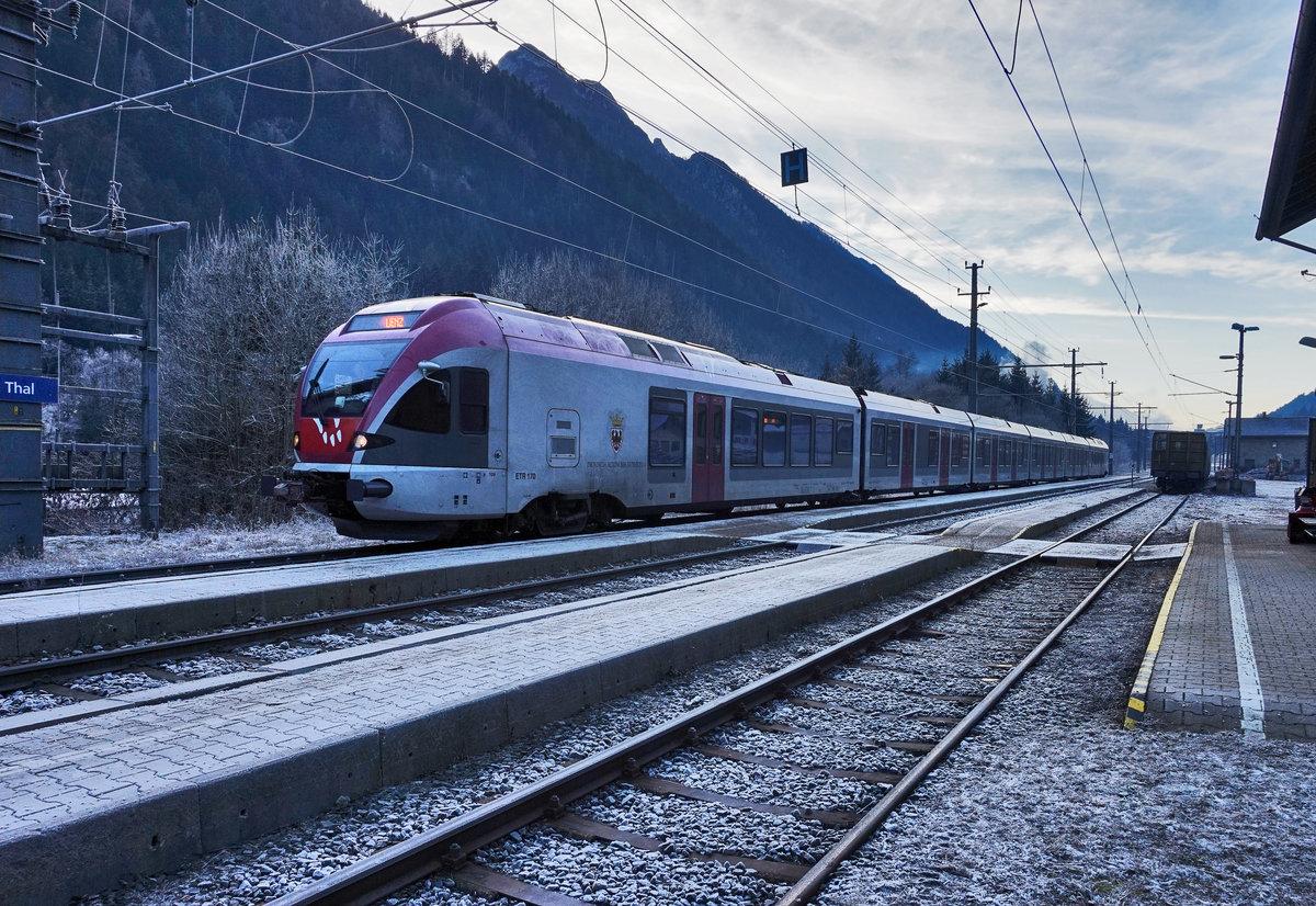 FLIRT ETR170 003 im Zuge der Flirt - Bahnbilder