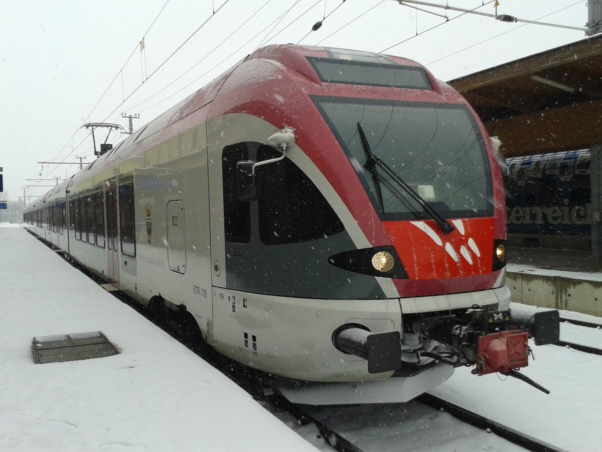 Direktzug Lienz Innsbruck - Thema auf zarell.com