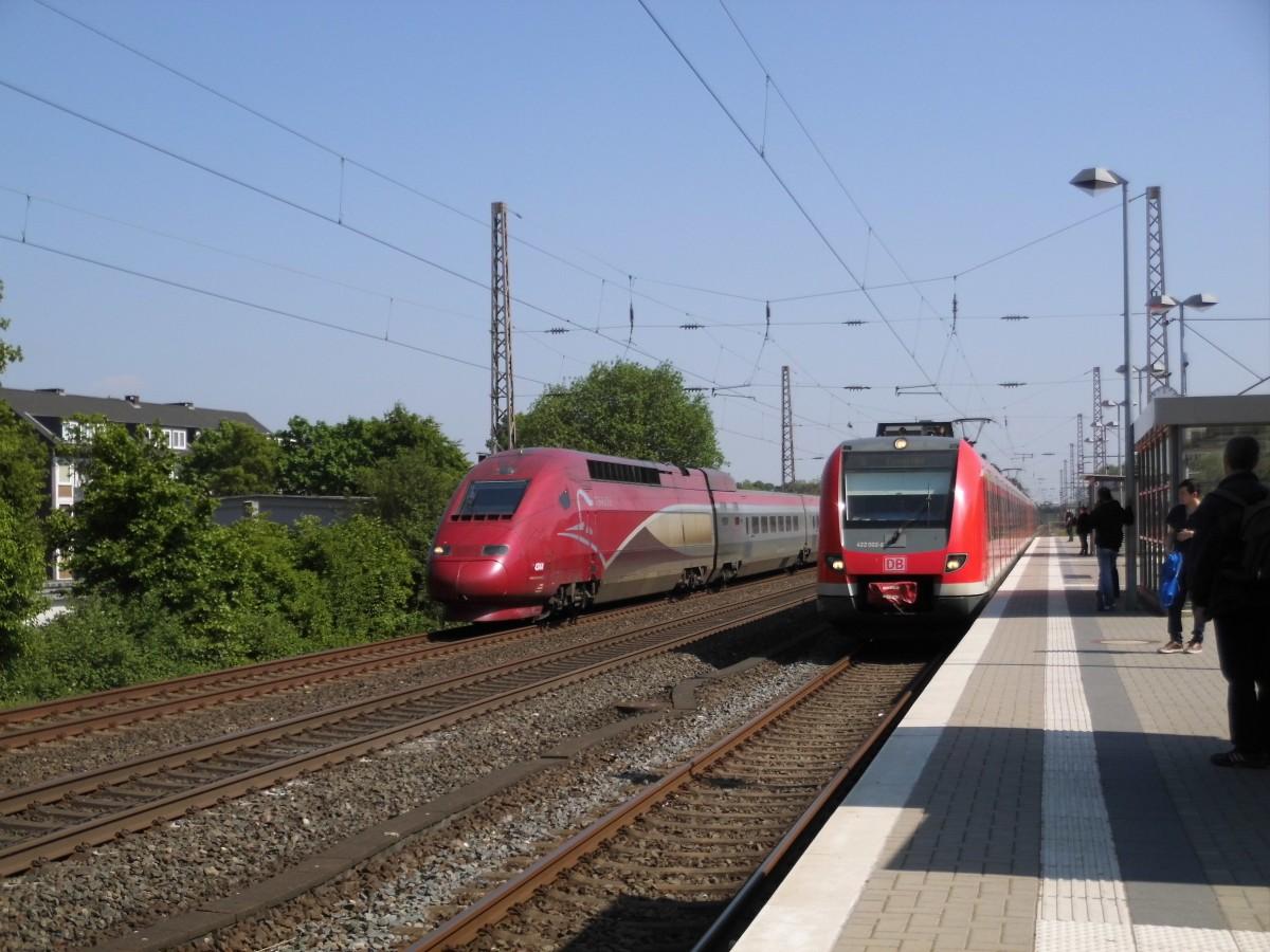 Fern Br 409 Trifft Auf Nah Et 422 In Düsseldorf Eller Süd Kdes