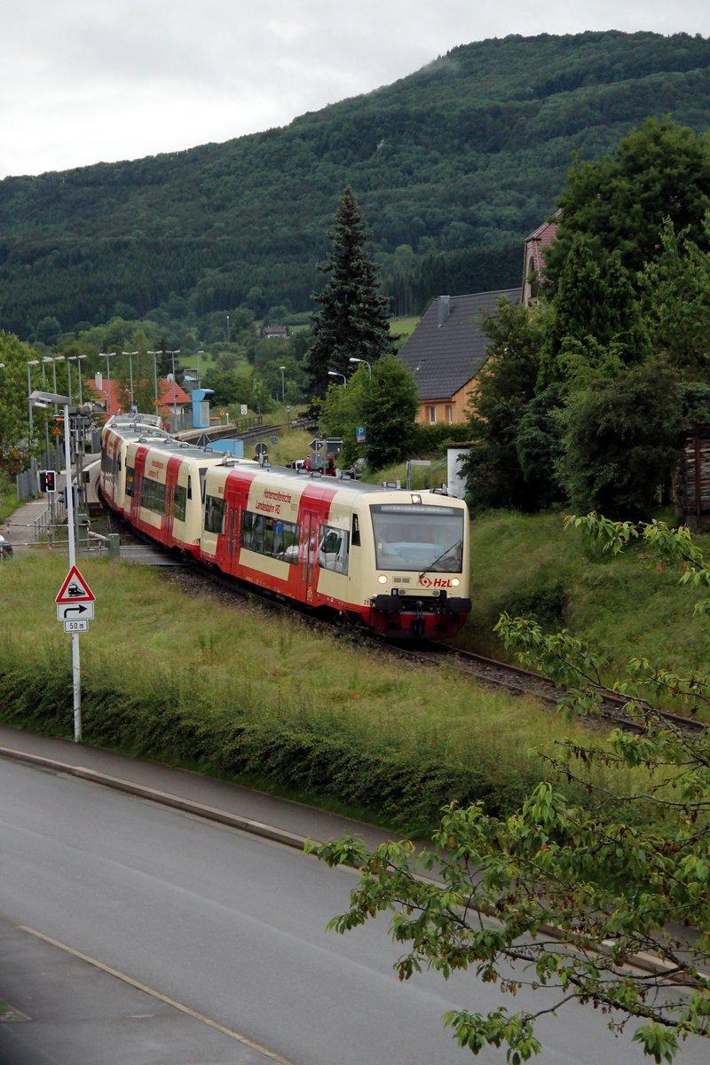Fahren Morgen Züge