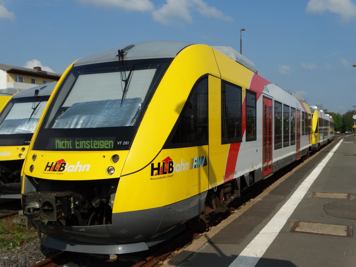 HLB Lint 27 VT201 am 13.05.16 in Fulda Bhf