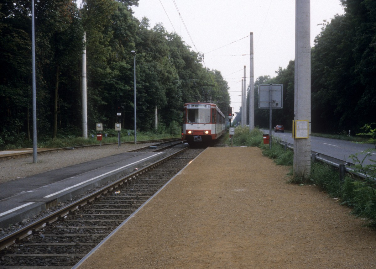Kvb Linie 4 Schlebusch