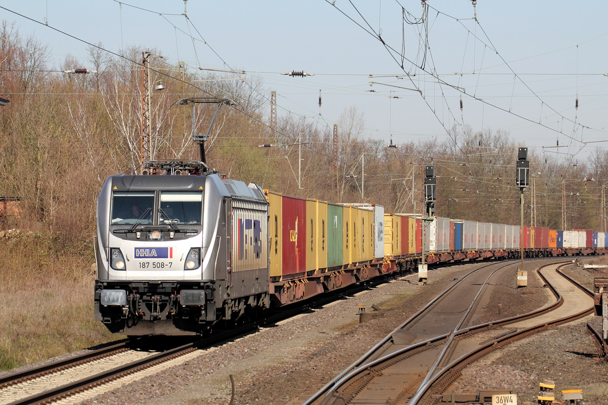Metrans 187 508-7 in Banteln 24.3.2020