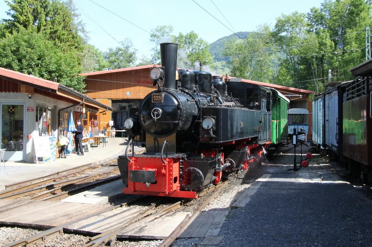 Museumsbahn Blonay Chamby Dampflok G 2x2 2 Mgb
