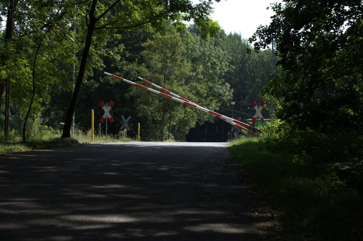 Obwohl die Strecke gundlegend modernisiert wurde und Pulsnitz wieder ...