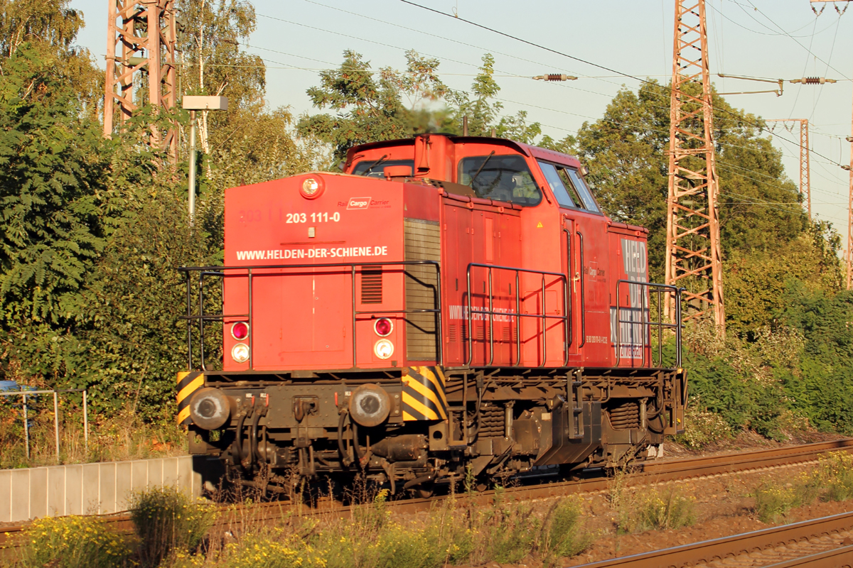 RCC 203 111-0 in Recklinghausen-Ost 27.9.2018