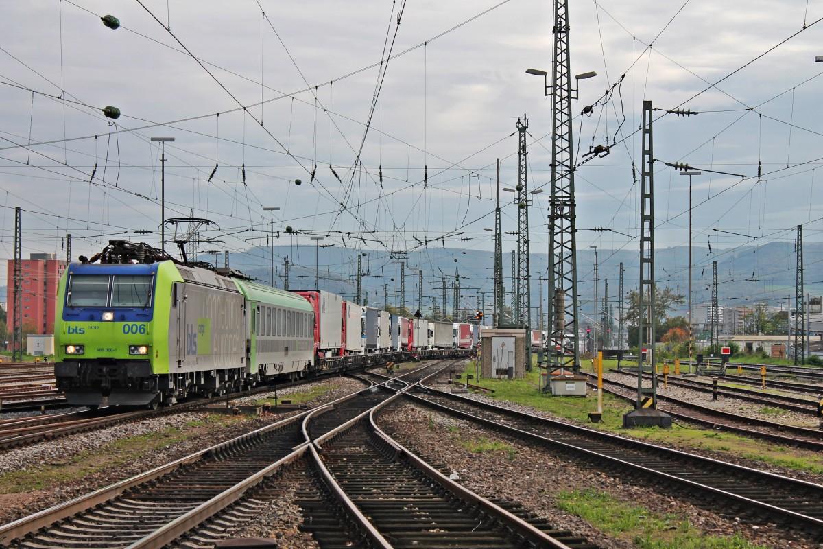 Re 485 006 1 Am Mit Einer Rola Novara