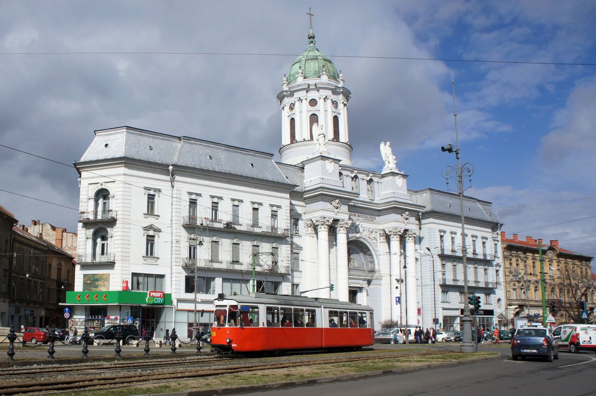 Arad Rumänien rumänien straßenbahn tram arad maschinenfabrik esslingen gt4