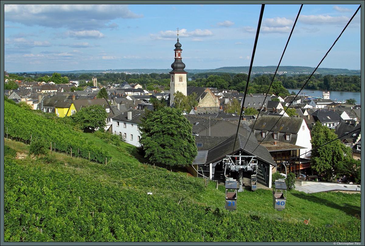 Sesselbahn Rüdesheim