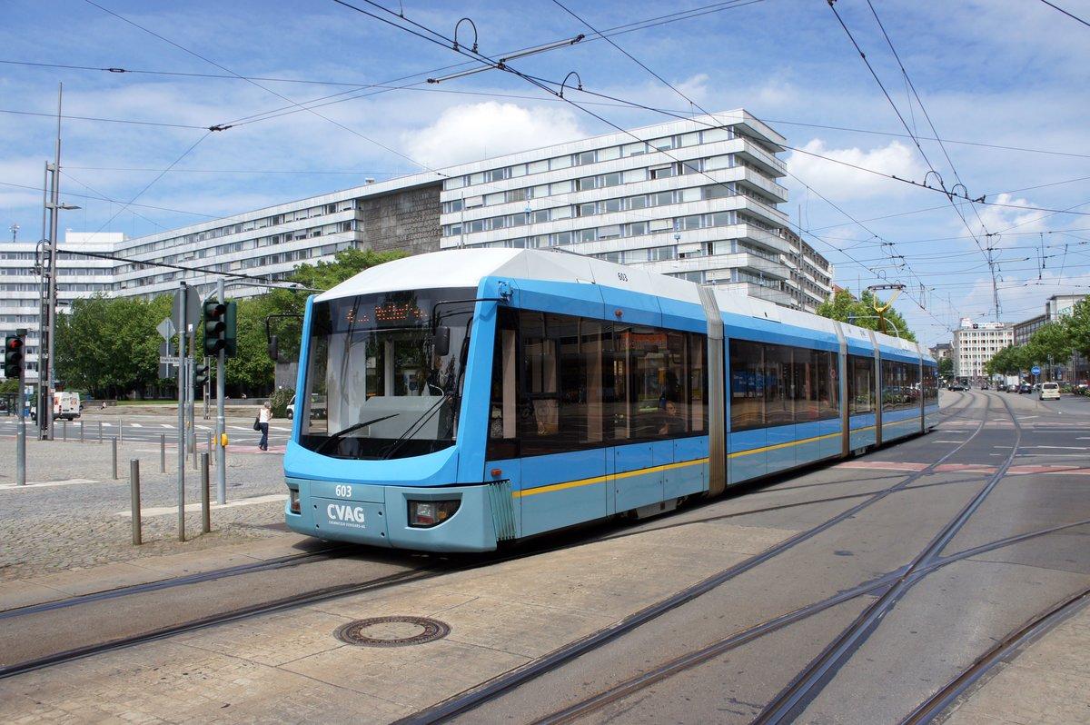 Straßenbahn Chemnitz / CVAG Chemnitz: Bombardier Variobahn