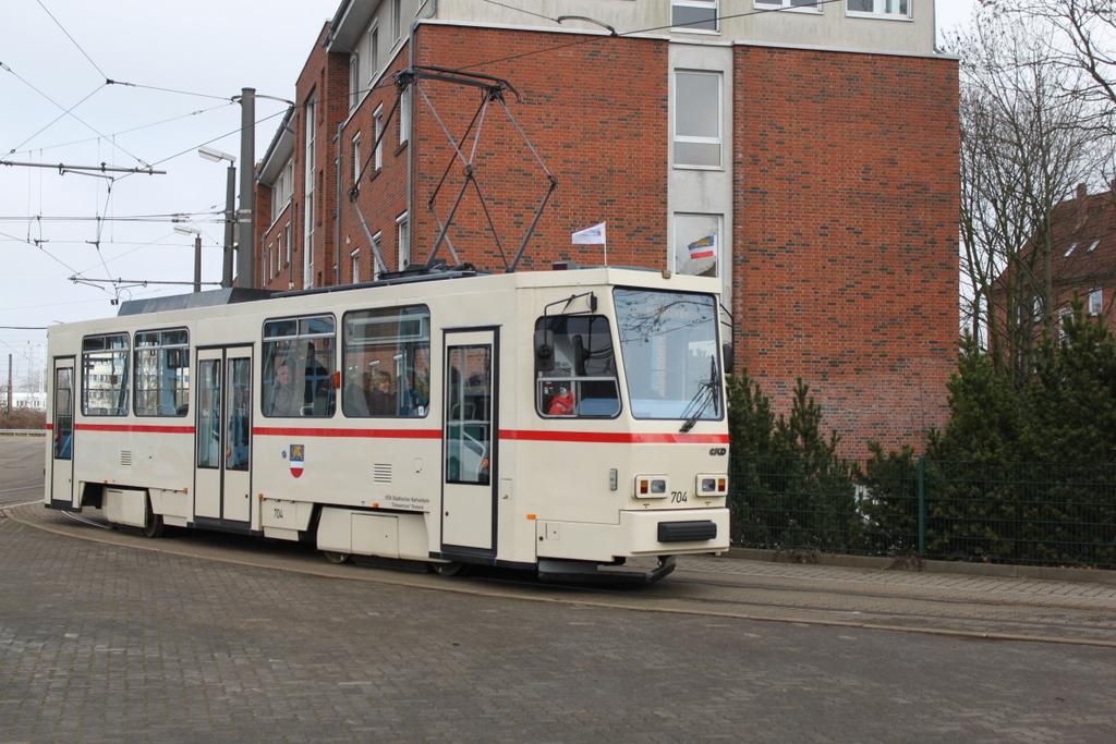 Stra Enbahn Rostock Fotos