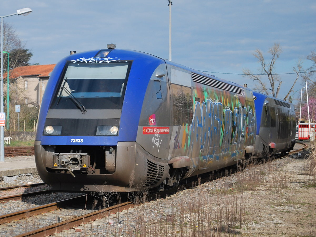 Ter rodez toulouse trifft im bhf carmaux ein 21 m rz for Ter toulouse