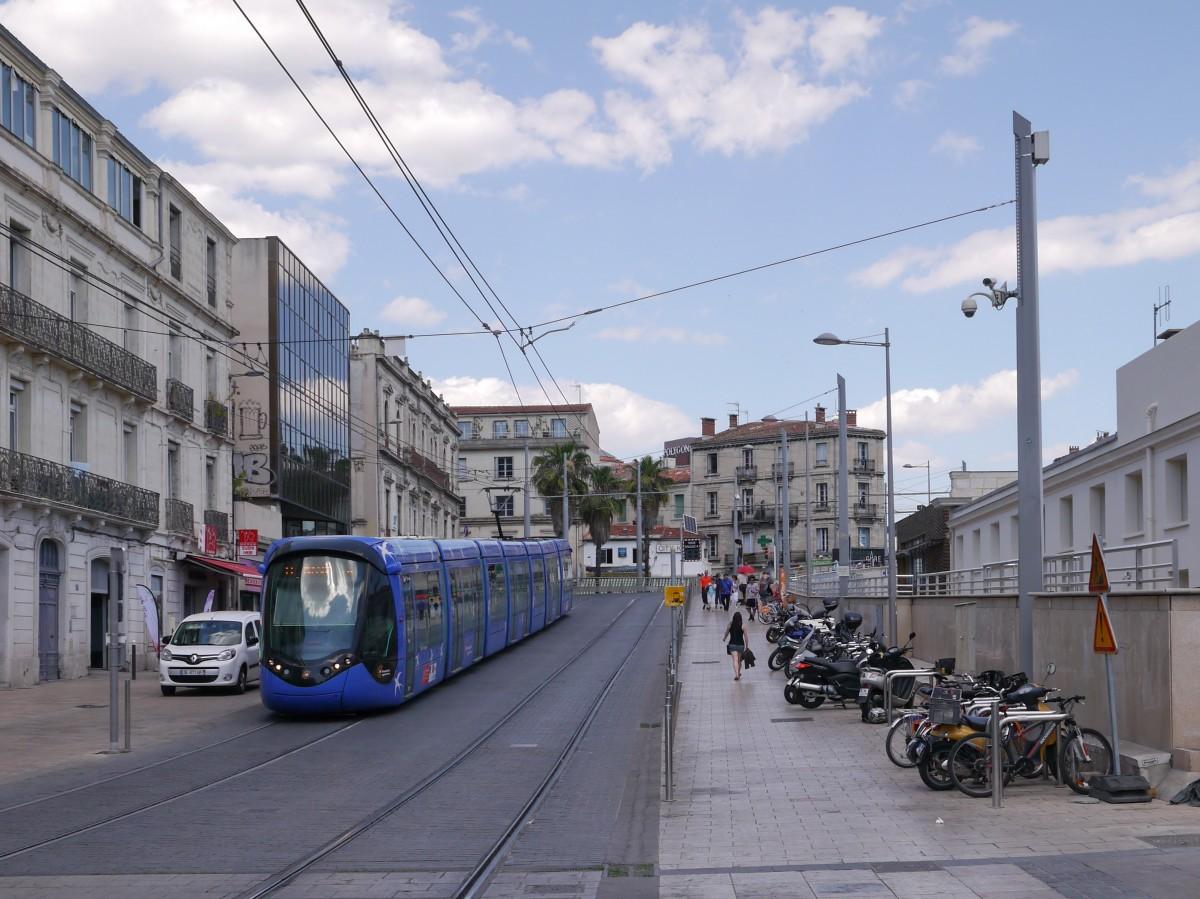 Montpellier Hotel De Ville Tram