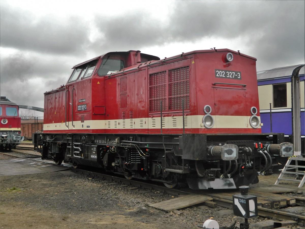 V100 (Ost) 202 327 - Baujahr 1971 - modernisiert 2007 der