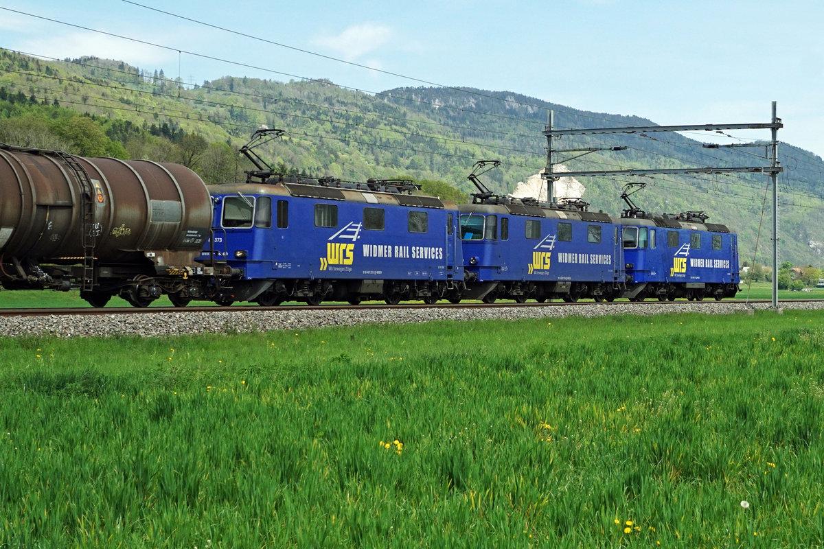 Widmer Rail Services AG  Mit einem Kraftpaket, bestehend aus den Re