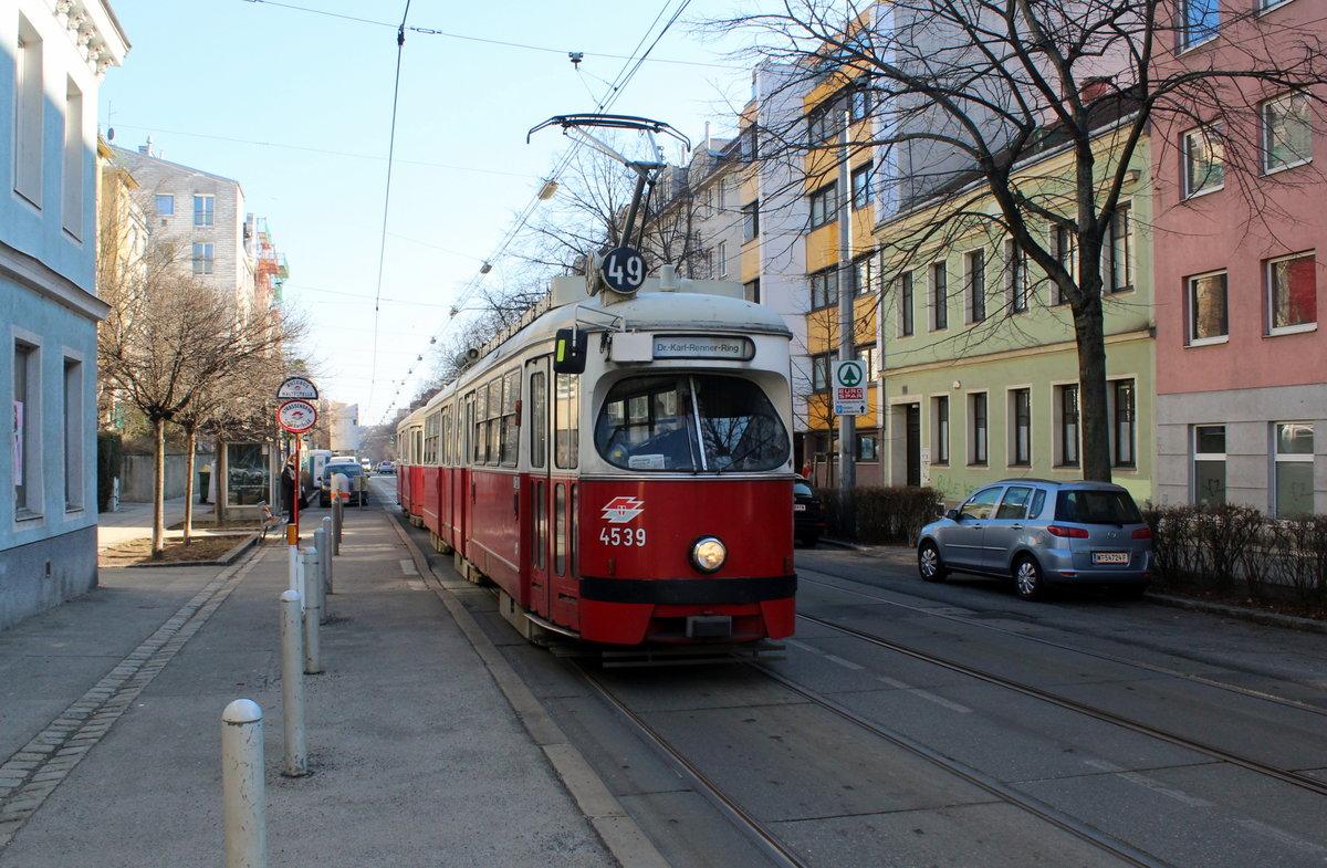 Wien Wiener Linien Sl 49 E1 4539 C4 1369 Xiv Penzing