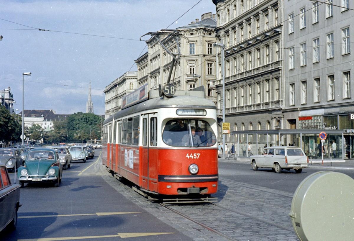 Wien Wvb Sl 58 Lohner E 4457 Babenbergerstraße Messeplatz