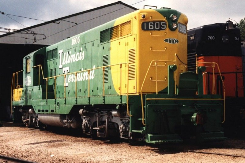 1605 Der Illinois Terminal Railroad General Motors Electro Motive Division And General Motors