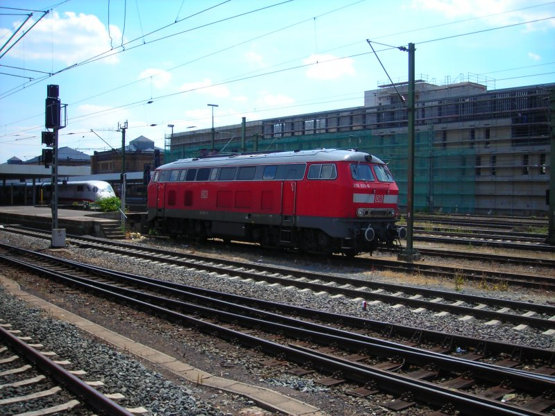 218 831 in Hannover HBF