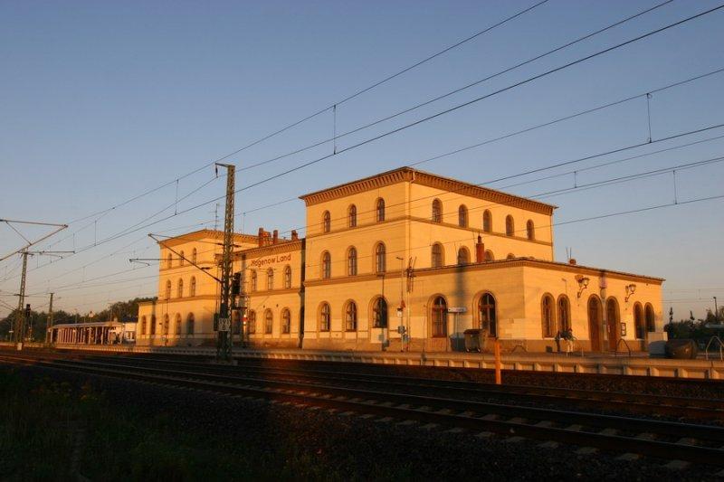Bahnhof Hagenow Land