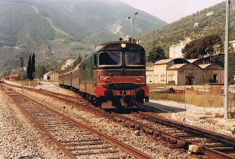 Le ferrovie ieri e oggi trainsimhobby - Milano porta genova treni ...