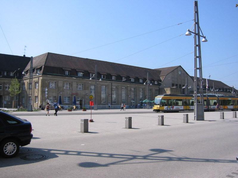 Karlsruhe Hbf Vorplatz