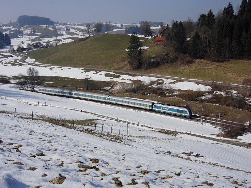 Der Alx 84144 Von München Nach Lindau Am 03032011 Kurz