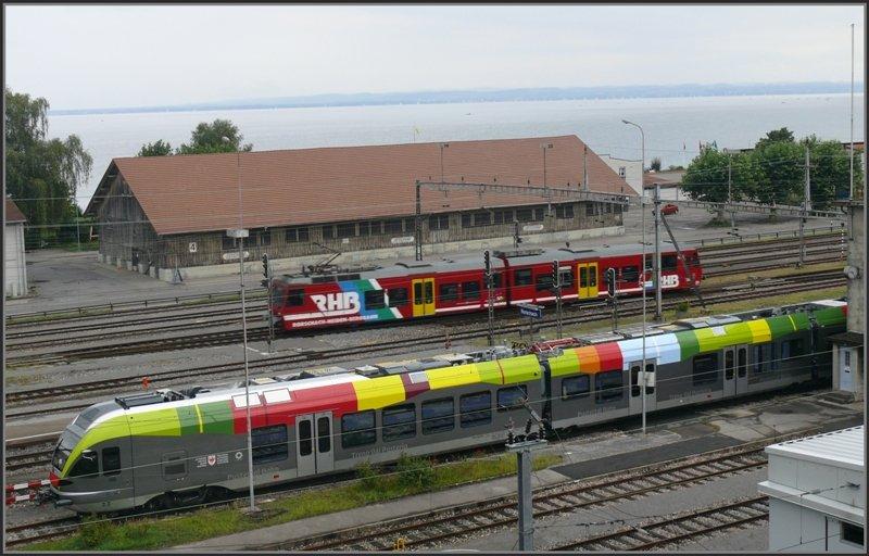 DB Regio SÜWEX Flirt 3 (429.1) am 24.04.15 in Mannheim Hbf ...