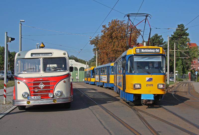 Die Alternative zur S-Bahn Leipzig-Halle. Mit der ...