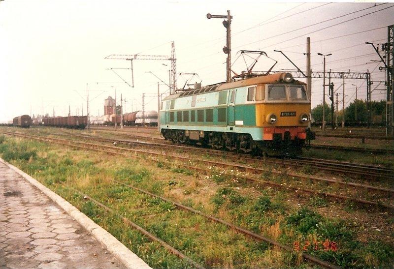 die polnische et22 623 fuhr am 27 september 1996 in szczecin gumience an einem aus deutschland. Black Bedroom Furniture Sets. Home Design Ideas