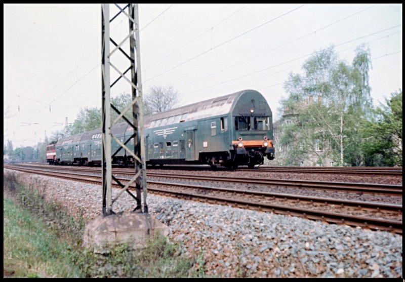 Bahn leipzig im reichsbahngrün um 1980