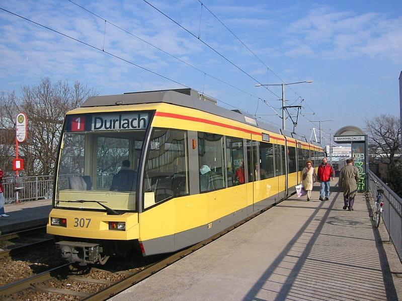 Linie 1 Karlsruhe