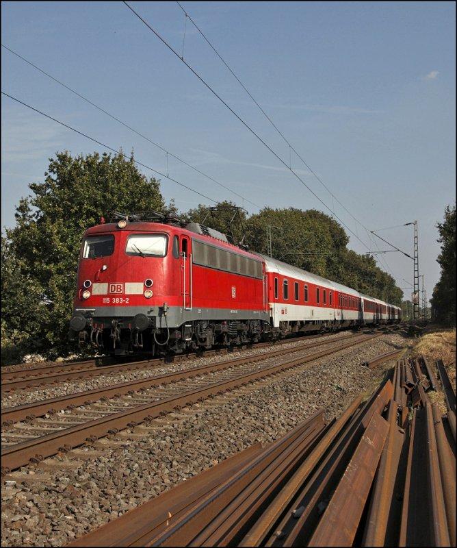 Einige 110er Haben Bei Db Autozug Eine Neue Aufgabe