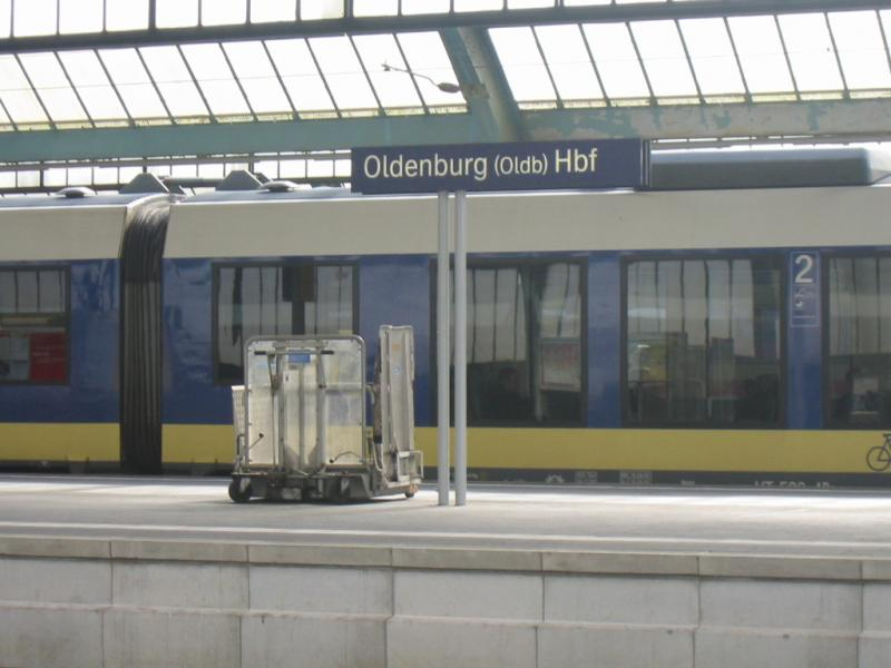 nordwestbahn nach wilhelmshaven in oldenburg hbf. Black Bedroom Furniture Sets. Home Design Ideas