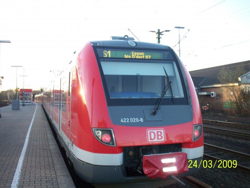 Nun Sind Die Neuen Et 422 Auch Auf Der S1 Im Einsatz Bahnbilderde