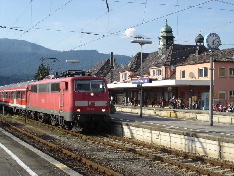Bahnhof Garmisch